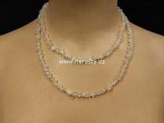 adulár + náhrdelník sekaný
