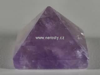 ametyst + pyramida