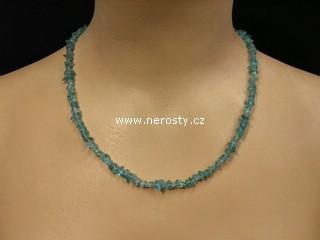 apatit + náhrdelník sekaný