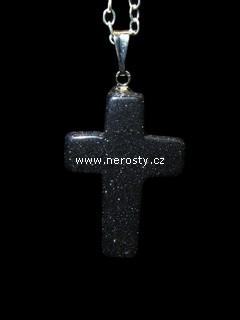 avanturín + křížek