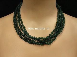 avanturín + náhrdelník