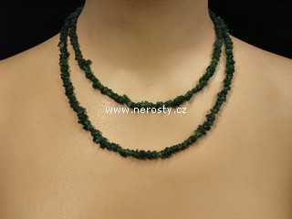 avanturín + náhrdelník sekaný