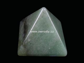 avanturín + pyramida