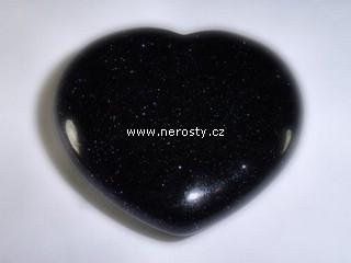 avanturín + srdce + syntetický kámen