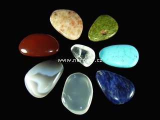čakrové kameny