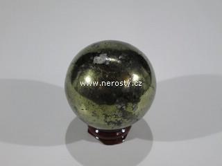 chalkopyrit + koule