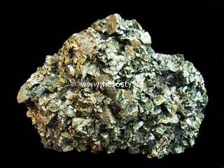 chalkopyrit + sfalerit