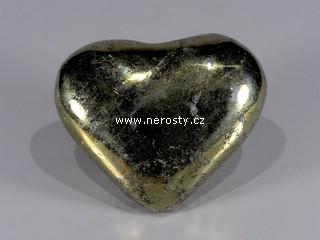 chalkopyrit + srdce