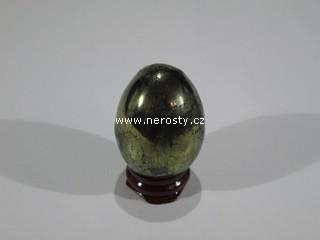 chalkopyrit + vejce