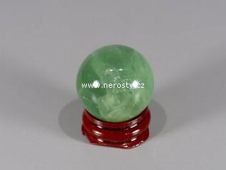 fluorit + koule