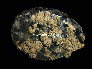 fluorit + siderit