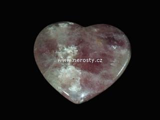 fluorit + srdce