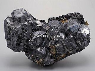galenit + chalkopyrit