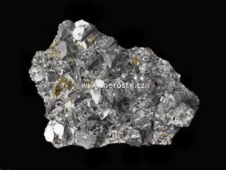 galenit + chalkopyrit + sfalerit