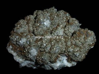 goethit + pyrit + kalcit
