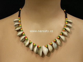 havai náhrdelník + korálky