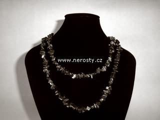 hematit + náhrdelník