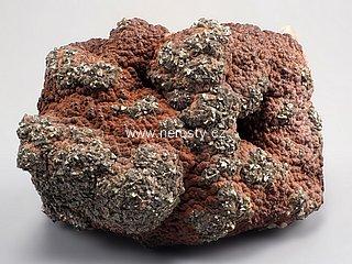 hematit + pyrit