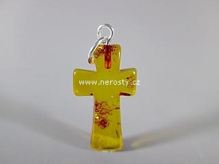 jantar + křížek