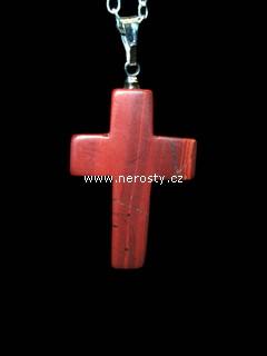 jaspis + křížek