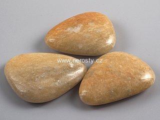 kalcit + hmatka + oranžový kalcit