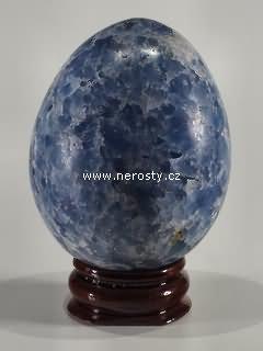 kalcit + modrý + vejce