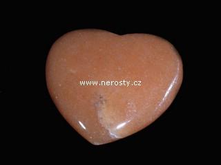 kalcit + oranžový + srdce