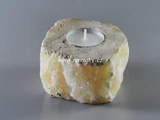 kalcit + svícen + žlutý