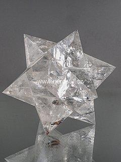 křišťál + hvězdice + merkaba