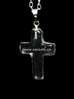 křišťál + křížek