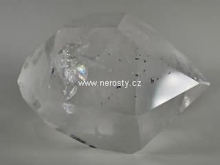 křišťál + leštěný oboustranný krystal