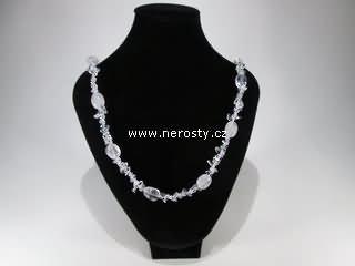 křišťál + náhrdelník