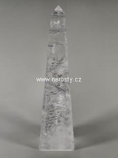 křišťál + obelisk