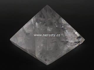 křišťál + pyramida
