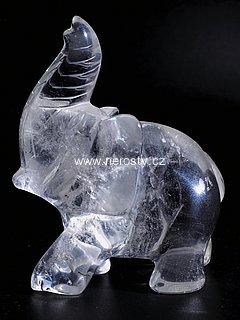 křišťál + slon