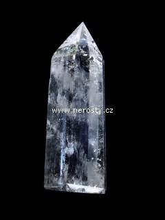 křišťál + špice + leštěný krystal