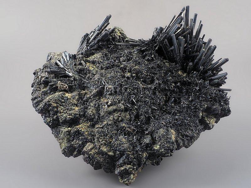antimonit, stibikonit