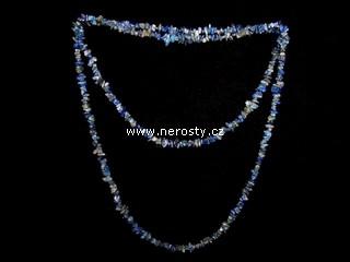 lazurit + náhrdelník sekaný