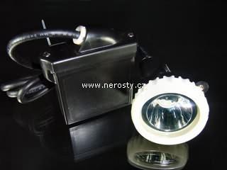 LED důlní svítilna + profesionál