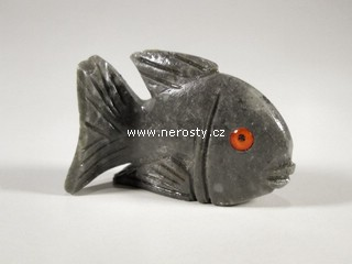 ryba, kalcit