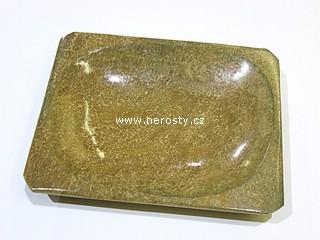 aragonit, hranatý talířek