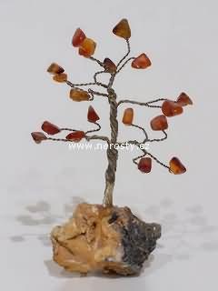 karneol, stromeček štěstí