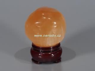 selenit, oranžový