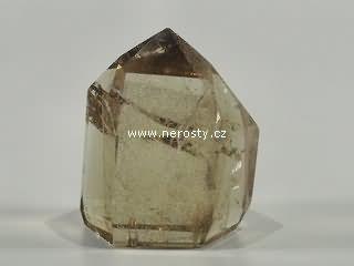 záhněda, leštěný krystal