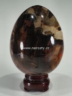 zkamenělé dřevo, vejce