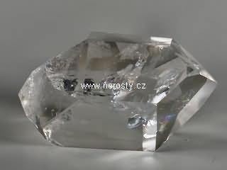 křišťál, leštěný oboustranný krystal