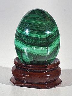 malachit, vejce