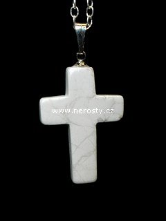 magnezit + křížek