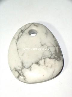 magnezit + vrtaný kámen