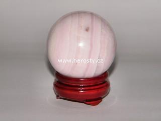 manganokalcit + koule